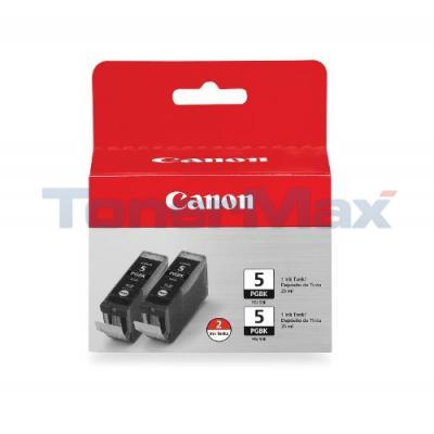 CANON PGI-5BK INK TANK BLACK TWIN PACK